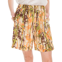 Шорты женские  Цвет:оранжевый Артикул:0577923 1