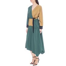 Платье женское  Цвет:зеленый Артикул:0578018 2