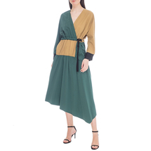 Платье женское  Цвет:зеленый Артикул:0578018 1