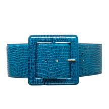 Ремень женский  Цвет:голубой Артикул:0165922 1