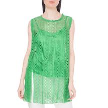 Комплект жилет/топ женский  Цвет:зеленый Артикул:0578166 1