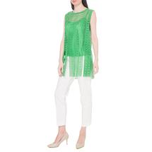 Комплект жилет/топ женский  Цвет:зеленый Артикул:0578166 2
