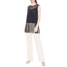 Комплект жилет/топ женский  Цвет:черный Артикул:0578166 2
