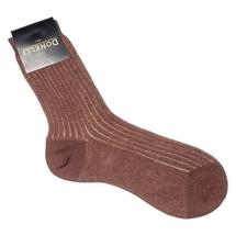 Носки женские  Цвет:коричневый Артикул:0166721 2