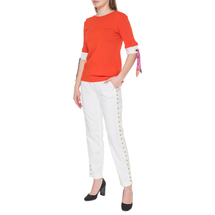 Джемпер женский  Цвет:оранжевый Артикул:0578896 2