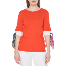 Джемпер женский  Цвет:оранжевый Артикул:0578896 1