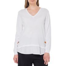 Пуловер женский  Цвет:белый Артикул:0578895 1