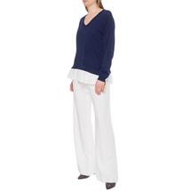 Пуловер женский  Цвет:синий Артикул:0578895 2