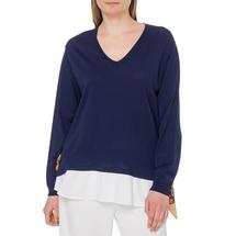Пуловер женский  Цвет:синий Артикул:0578895 1