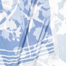 Шарф женский  Цвет:голубой Артикул:0167815 2