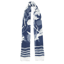Шарф женский  Цвет:синий Артикул:0167815 1