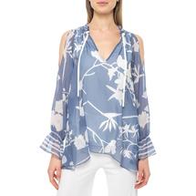 Блуза женская  Цвет:голубой Артикул:0579234 1