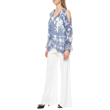 Блуза женская  Цвет:голубой Артикул:0579234 2