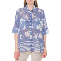 Блуза женская  Цвет:голубой Артикул:0579237 1