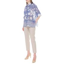 Блуза женская  Цвет:голубой Артикул:0579237 2