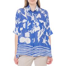 Блуза женская  Цвет:синий Артикул:0579238 1