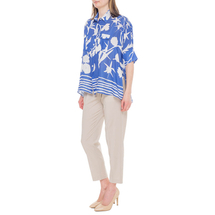 Блуза женская  Цвет:синий Артикул:0579238 2