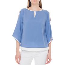 Блуза женская  Цвет:синий Артикул:0579255 1