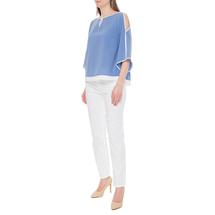 Блуза женская  Цвет:синий Артикул:0579255 2