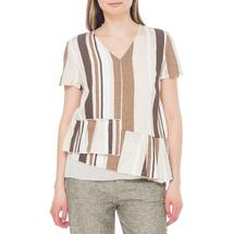 Блуза женская  Цвет:бежевый Артикул:0579279 1