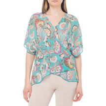 Блуза женская  Цвет:бирюзовый Артикул:0579290 1