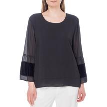 Блуза женская  Цвет:черный Артикул:0579294 1