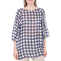 Блуза женская  Цвет:синий Артикул:0579304 1
