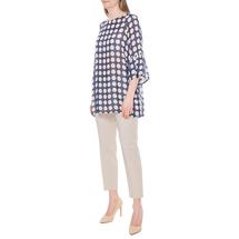 Блуза женская  Цвет:синий Артикул:0579304 2