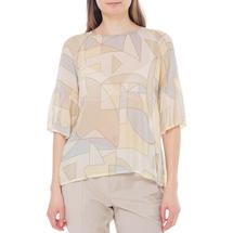 Блузка женская  Цвет:желтый Артикул:0579258 1