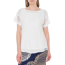 Комплект блуза/топ женский  Цвет:белый Артикул:0579241 1
