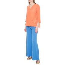 Комплект блуза/топ женский  Цвет:оранжевый Артикул:0579284 2