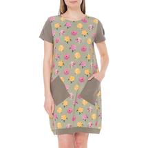 Платье женское  Цвет:зеленый Артикул:0579073 1