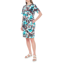 Платье женское  Цвет:бирюзовый Артикул:0579088 2