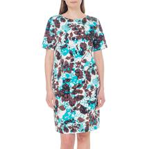 Платье женское  Цвет:бирюзовый Артикул:0579088 1