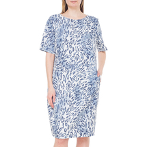 Платье женское  Цвет:синий Артикул:0579097 1