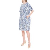 Платье женское  Цвет:синий Артикул:0579097 2