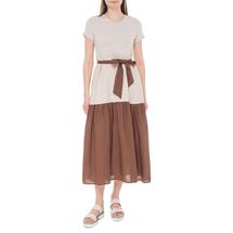 Платье/пояс женское  Цвет:бежевый Артикул:0579059 1