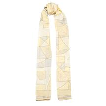Шарф женский  Цвет:желтый Артикул:0167816 1