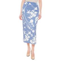 Юбка женская  Цвет:голубой Артикул:0579002 1