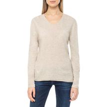 Пуловер женский  Цвет:бежевый Артикул:0579337 1