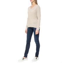 Пуловер женский  Цвет:бежевый Артикул:0579337 2