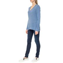 Пуловер женский  Цвет:голубой Артикул:0579337 2