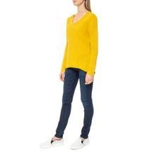 Пуловер женский  Цвет:желтый Артикул:0579337 2