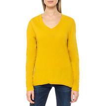 Пуловер женский  Цвет:желтый Артикул:0579337 1