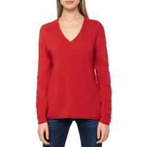 Пуловер женский  Цвет:красный Артикул:0579337 1