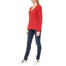 Пуловер женский  Цвет:красный Артикул:0579337 2