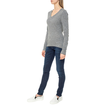 Пуловер женский  Цвет:серый Артикул:0579337 2