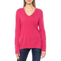 Пуловер женский  Цвет:фуксия Артикул:0579337 1