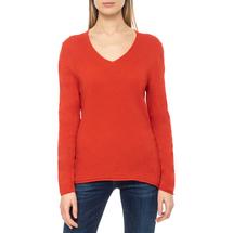 Пуловер женский  Цвет:красный Артикул:0579338 1