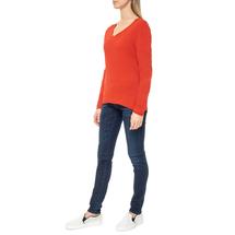 Пуловер женский  Цвет:красный Артикул:0579338 2